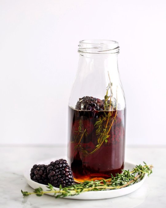 Blackberry Thyme Maple Syrup-RW