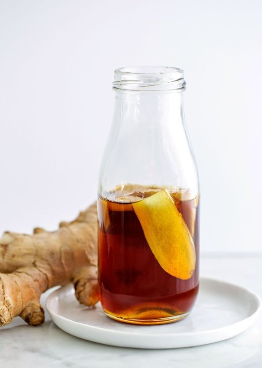 Spicy Ginger Maple Syrup- RW
